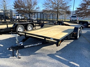 Car Hauler 16ft With Slide Under Ramps By Gator  Car Hauler 16ft With Slide Under Ramps By Gator. 5ft loading ramp set and sealed wiring included.
